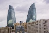 The Skyline Of Baku