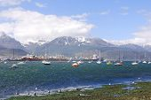 Ushuaia harbor