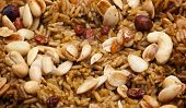 Arabian Kabsa Rice Closeup