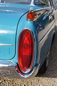 Tail light of classic car