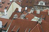 rooftops Mala Strana Prague