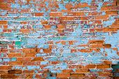 Distressed Brick Wall 3