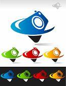 Swoosh Camera Icons