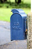 Old Fashioned Postbox 2 poster