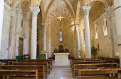 Church of St. Benedetto. Brindisi. Puglia. Italy.