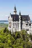 Soaring Architecture Of The Neuschwanstein Castle
