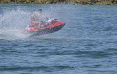 Speeding Jet Ski
