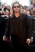 NEW YORK-JUNE 17: Actor Brad Pitt attends the premiere of