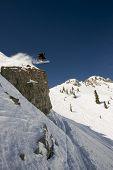 High Flying Skier