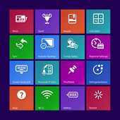 Metro-style system icons 3, custom versions