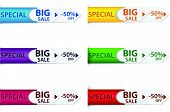 Special discount price tags