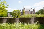 Castle Of Zuylen In Spring