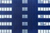 Glass Facade Of Windows