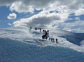 Escalando o Glaciar Perito Moreno