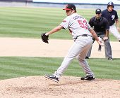 Rochester Red Wings pitcher Carlos Gutierrez