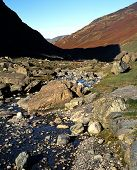 River Derwent, Honister Pass, Cumbria.