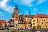 Poland, Wawel Cathedral  Complex In Krakow