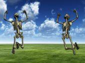 Jumping Skeletons