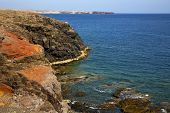 Water  Coastline And Summer In El Golfo Lanzarote