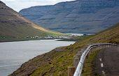 Faroe Islands, Fjord Landscape