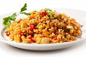 stock photo of rice  - Chinese Cuisine  - JPG