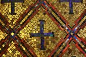 byzantinischen Stil Mosaik