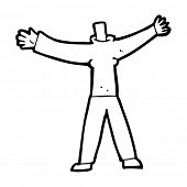 cartoon headless body (mix and match cartoons or add own photo)