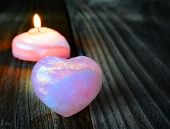 picture of rose-quartz  - warm heart  - JPG