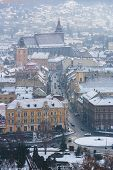 Brasov City In Winter