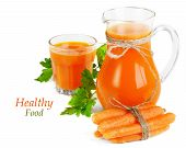 Carrots And Carrots Juice