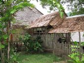 Traditional Malaysian Longhouse