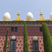 Facade Of Dali Museum In Figueres