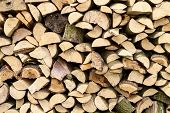Background Of Firewood Logs