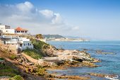 Atlantic Ocean Coastal Landscape, Gibraltar Strait, Morocco