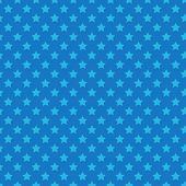 Blue seamless pattern with stars