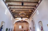 Mission San Luis Obispo De Tolosa California Basilica Wooden Ceiling