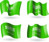 4 Flags of Saudi Arabia