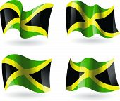 4 Flags of Jamaica