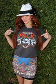 LOS ANGELES - JUN 18:  Phoebe Price at the Private LA Football League Summer Kickoff Suite featuring