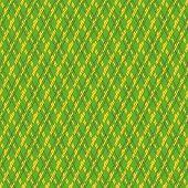 Green And Yellow Seamless Mesh Pattern