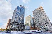 Marunouchi Business District in Tokyo
