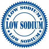 Low Sodium-stamp