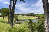 A Beautiful Golf Course At Vilamoura