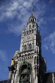 Castle in Marienplatz Munich