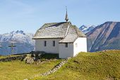 Typical Swiss Mountain Church