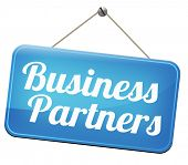 Partners our business partnership and cooperation group in team work