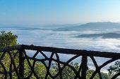 Fog On Mountain
