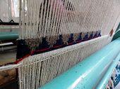 Rug Weaving on a Loom