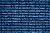 Texture Of Terry Fabric Silvery Blue Color