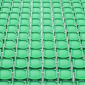 Green Seat In Sport Stadium